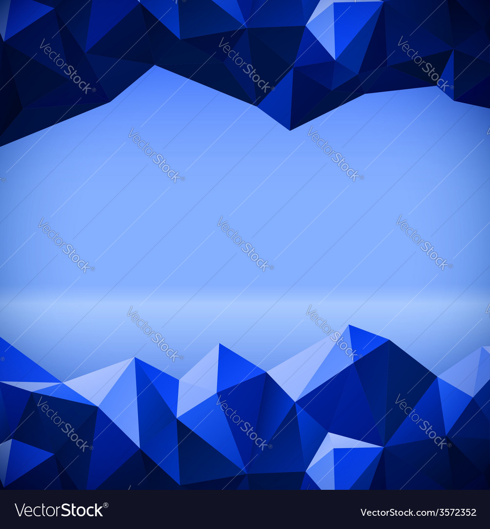 Abstract polygonal lines