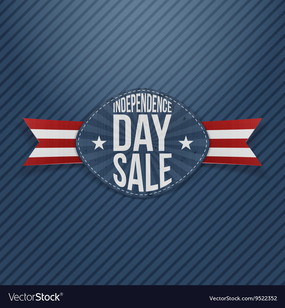 Independence Day Sale scratched Tag