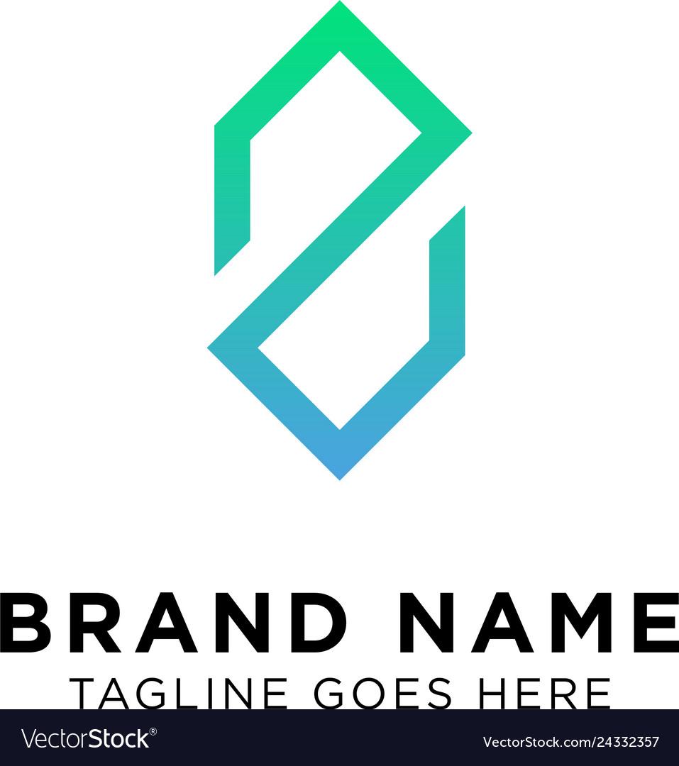 Initial z logo design
