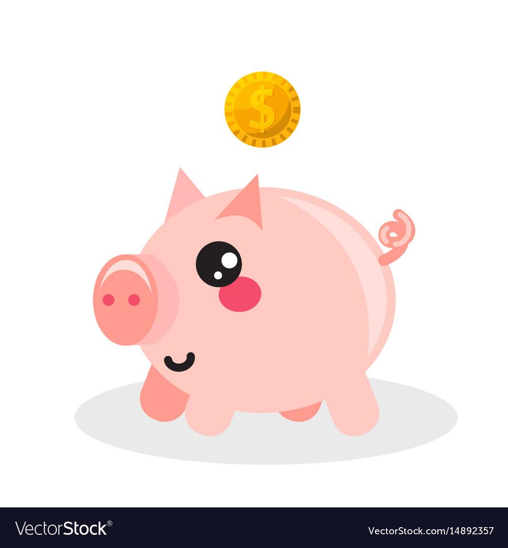 Pig money box icon