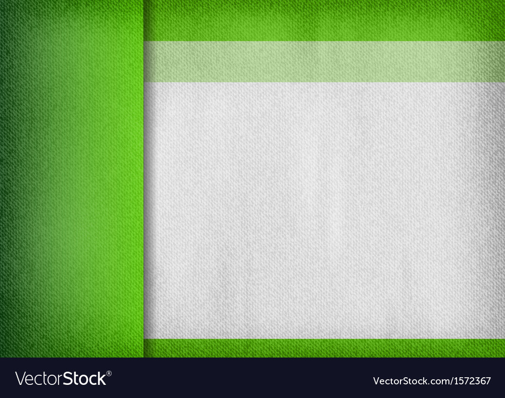 Template green empty vector image