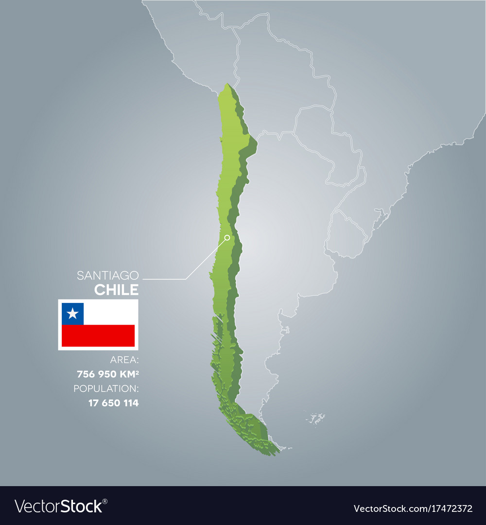 Chile information map