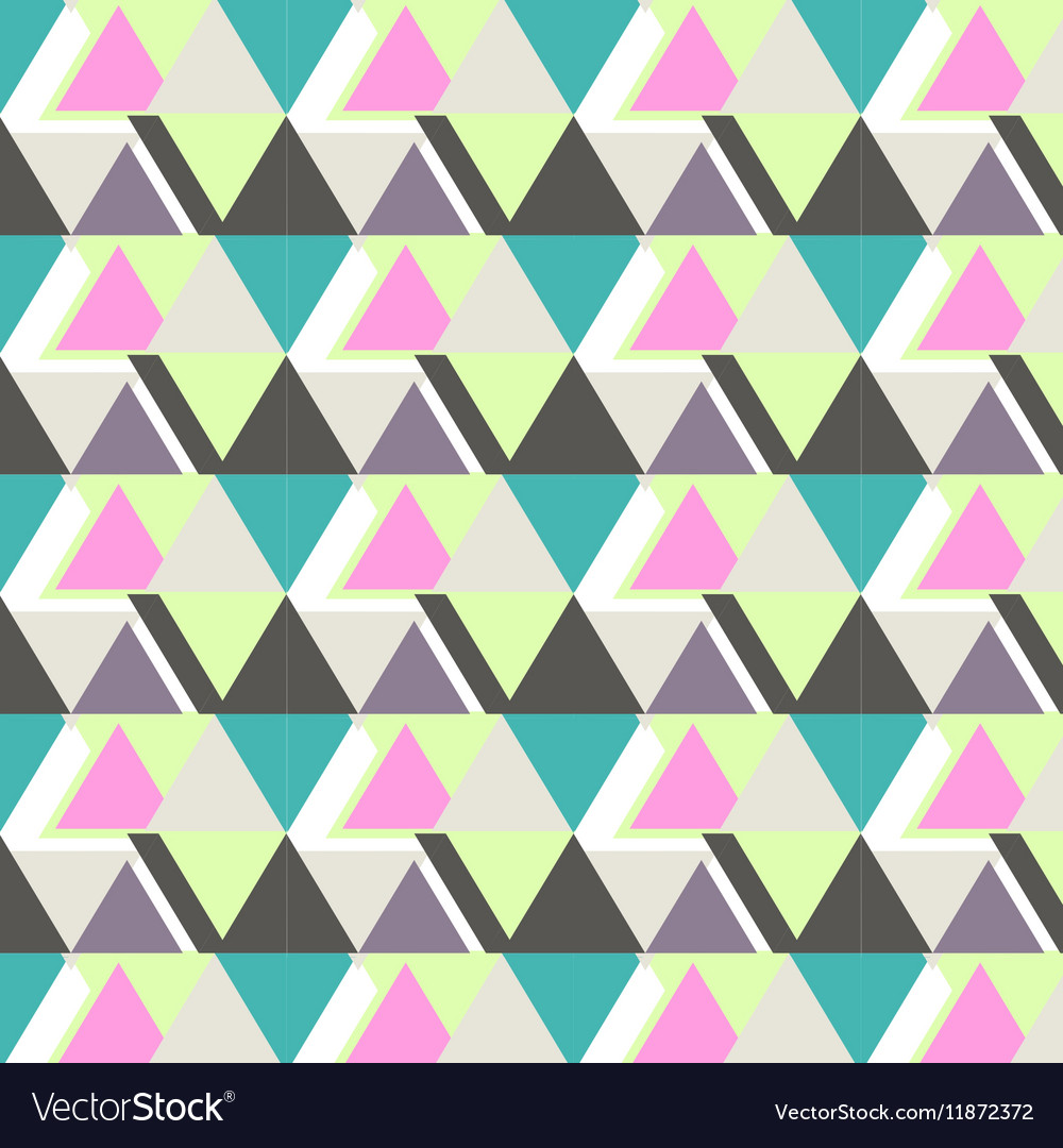 Cool modern triangle pattern Abstract