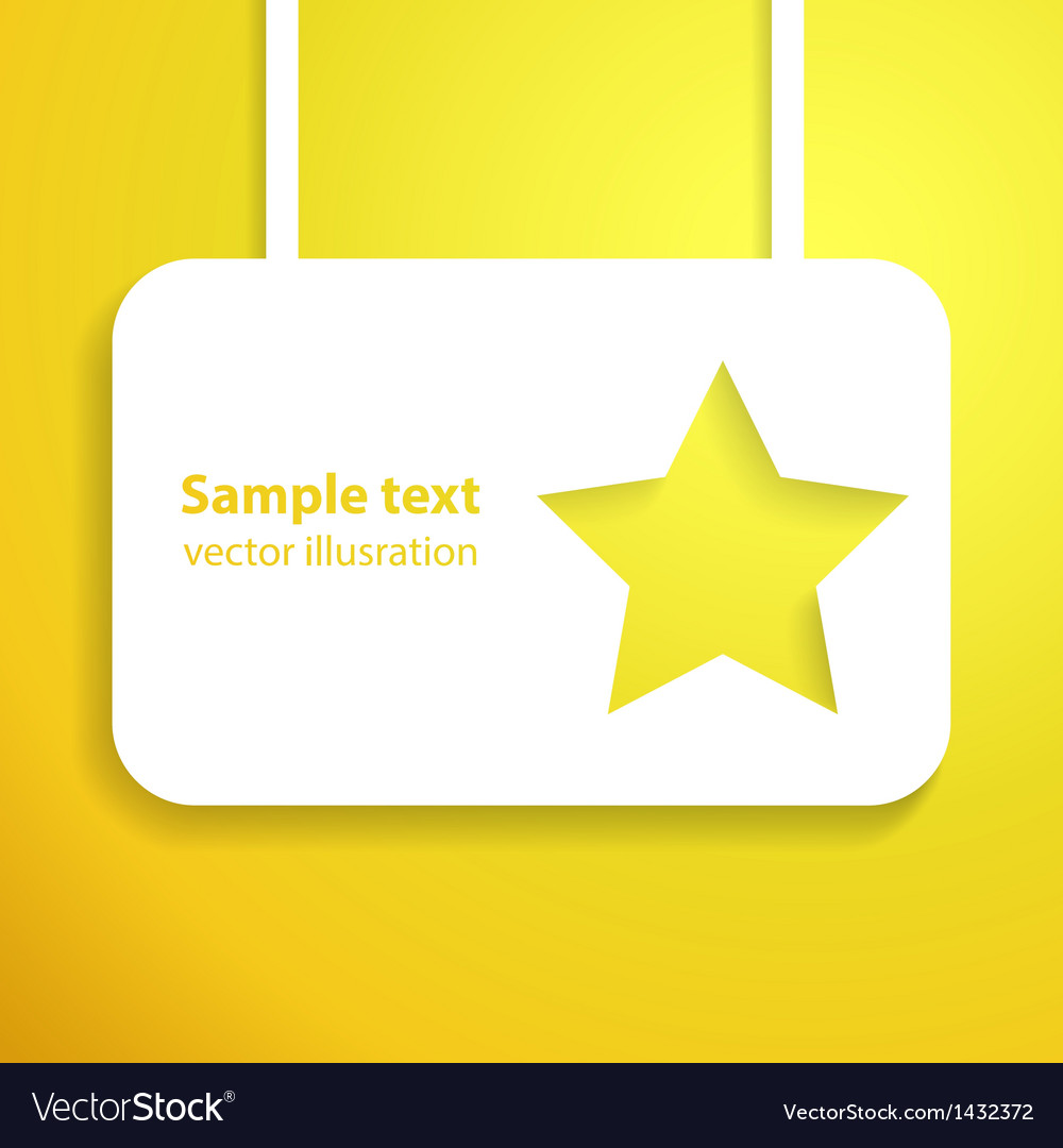 Yellow star applique background for your starlit