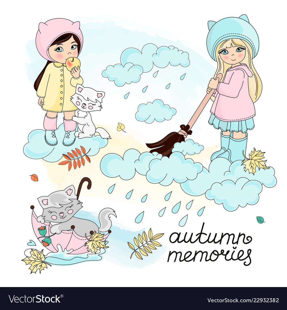 Autumn memories set