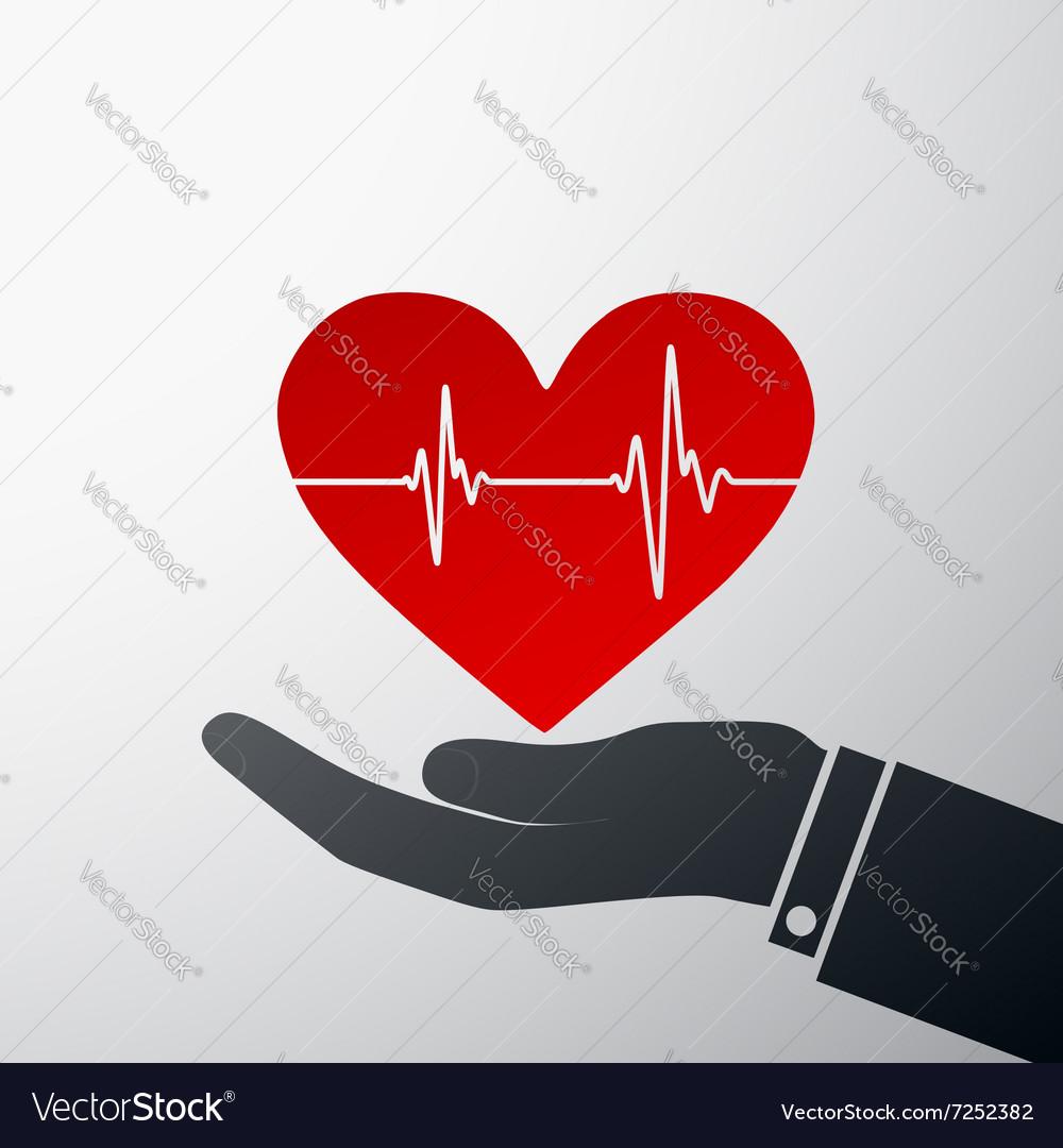 Logo heart Stock