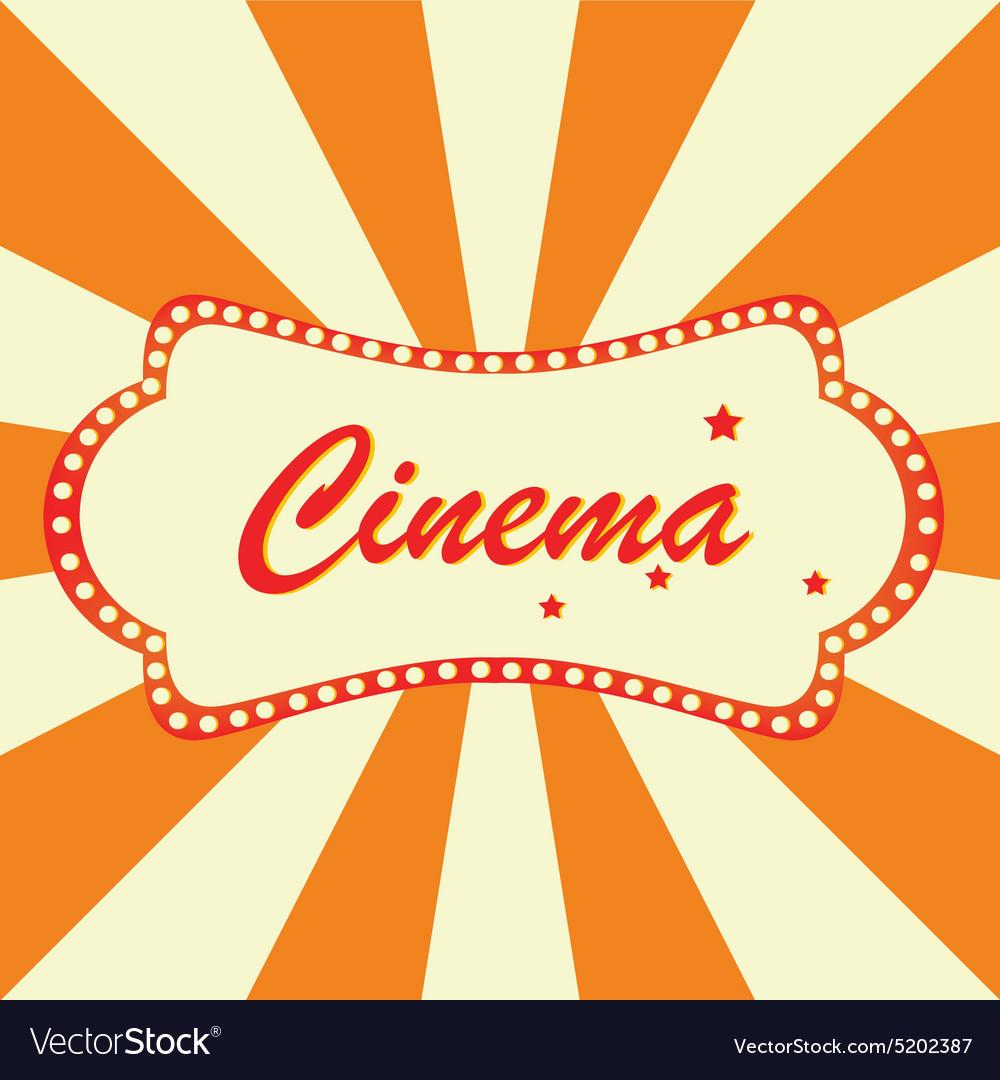 Cinema billboard