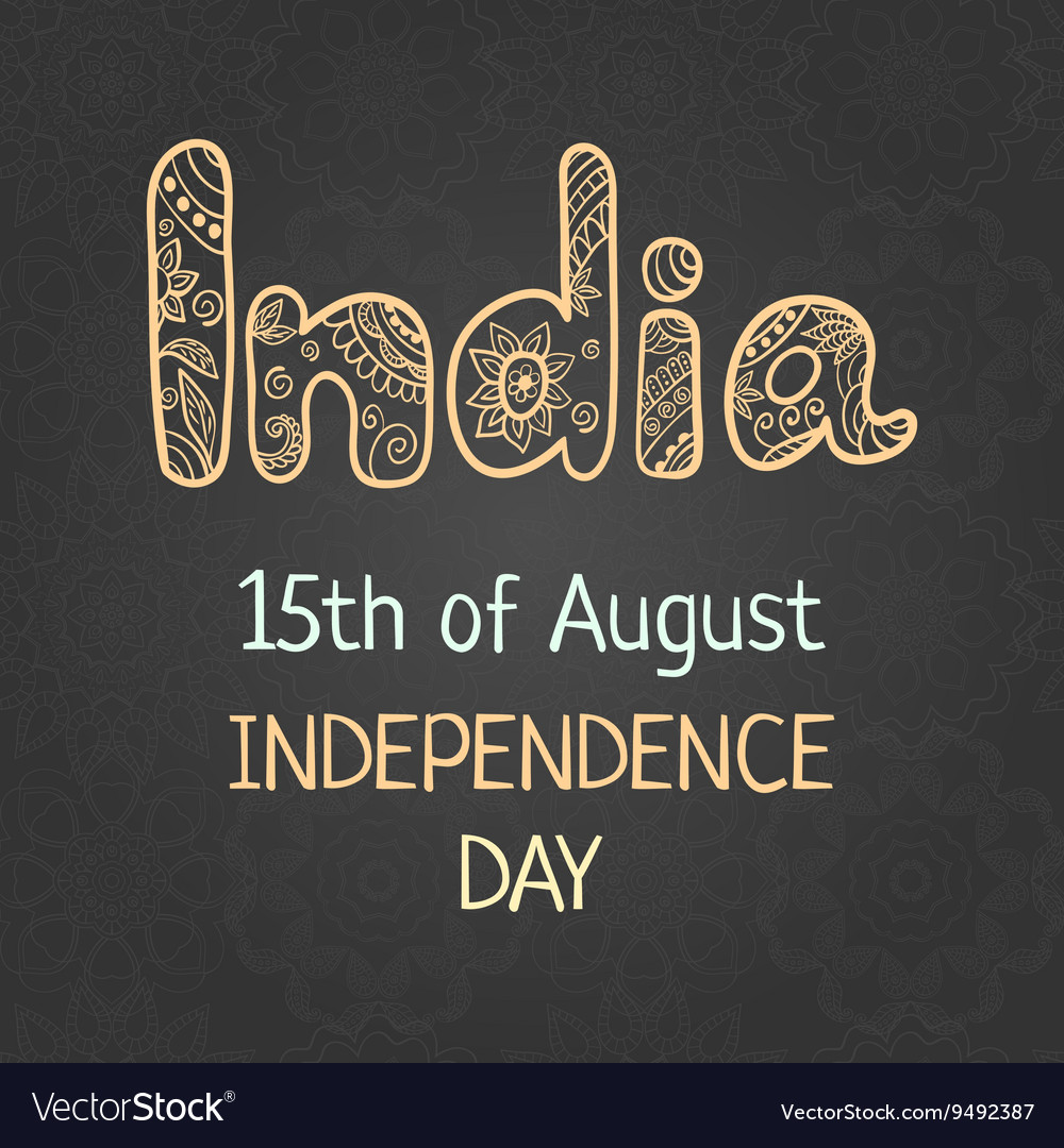 Indian independence day 15 august