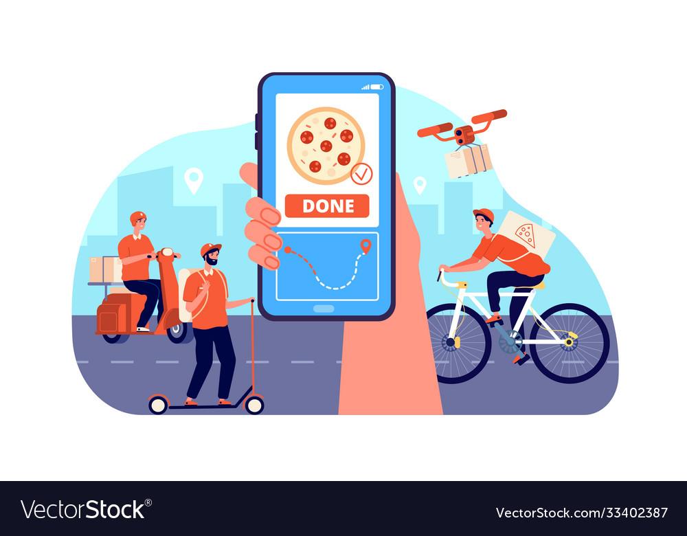 Online food delivery restaurant order service