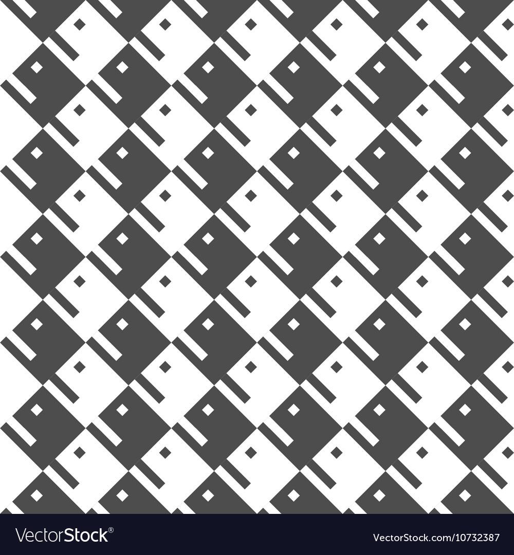 Seamless Geometric Pattern Regular Tiled Ornament