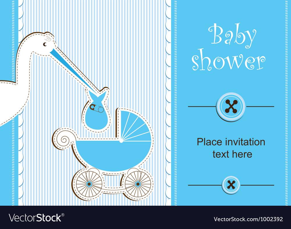 Baby shower - boy
