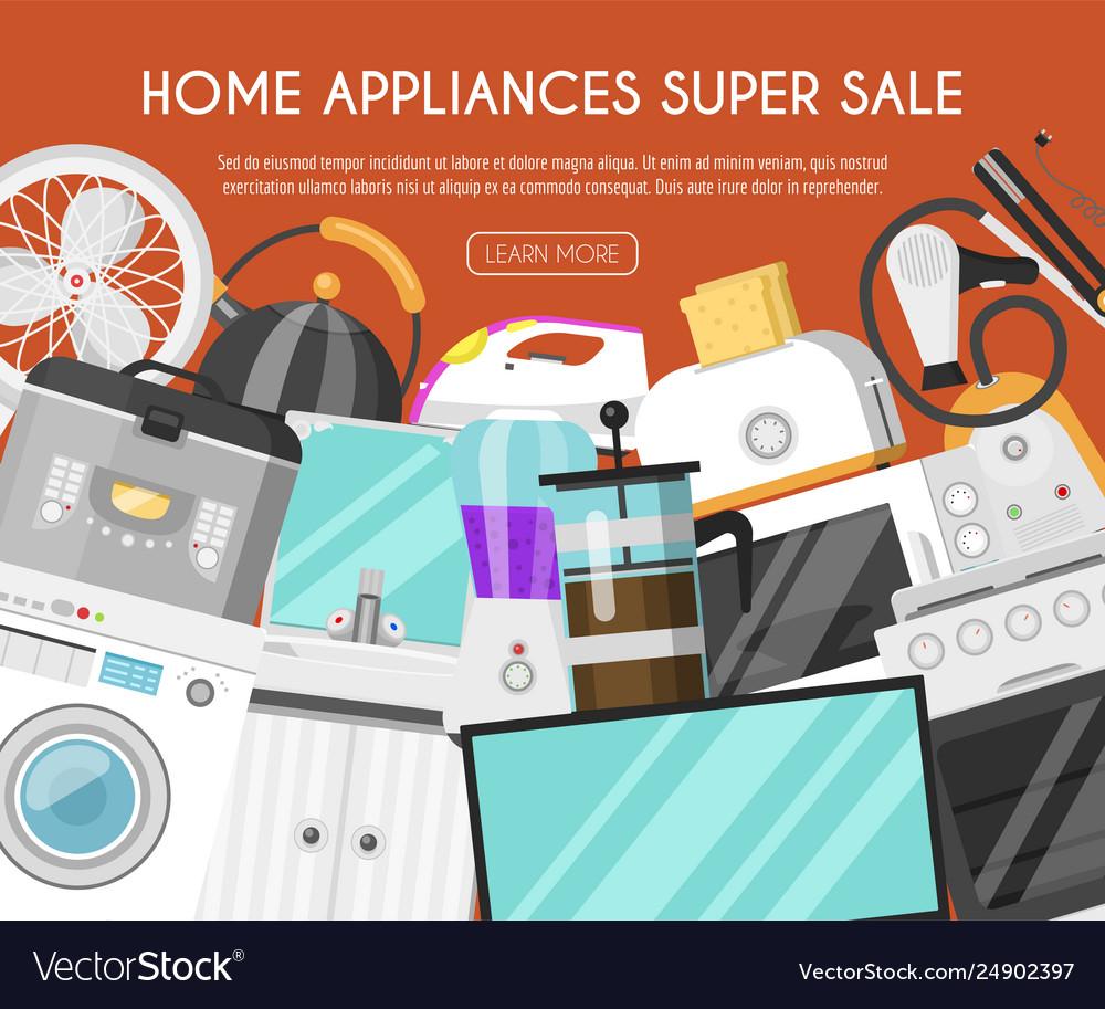 Appliances Online Store Banner