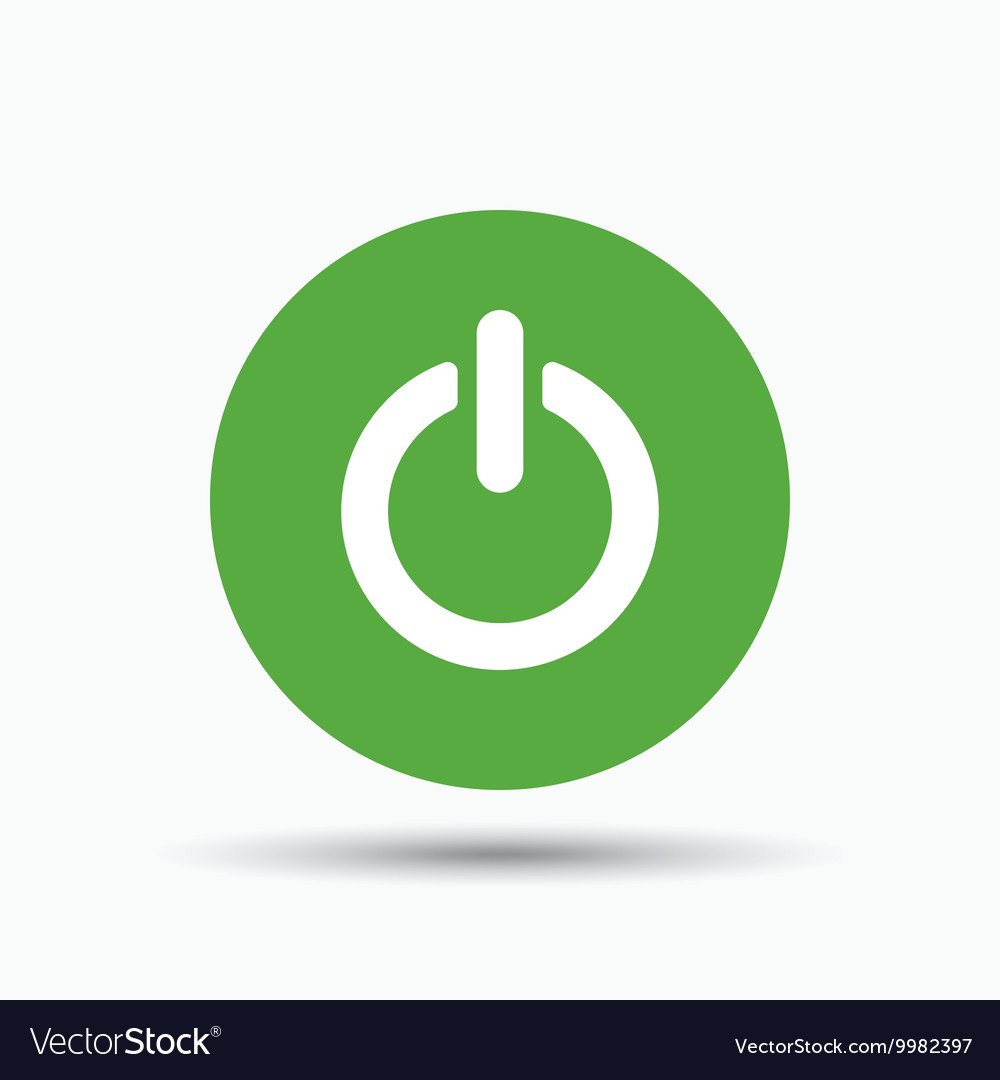 On Off Power Icon Energy Switch Sign Royalty Free Vector