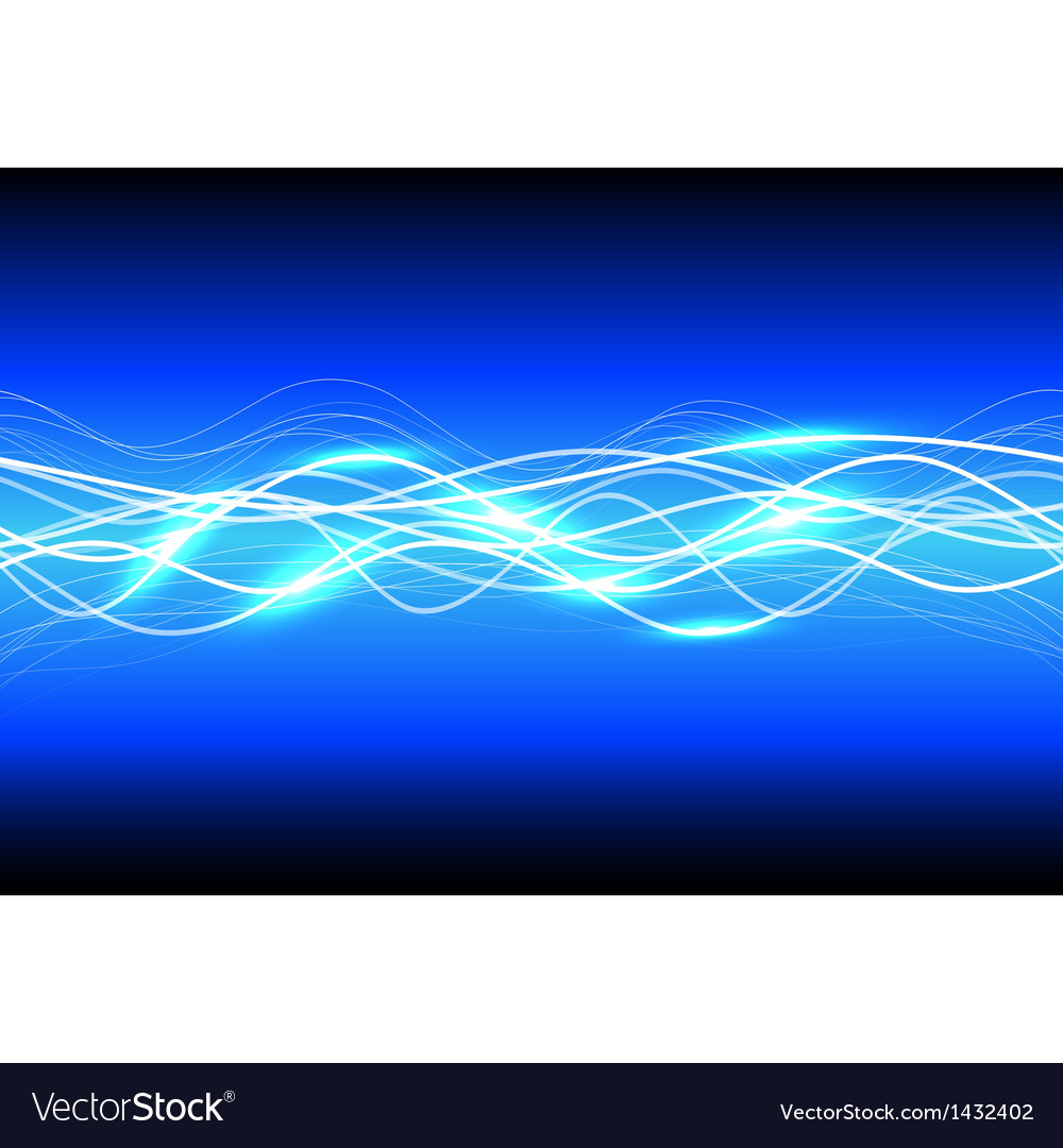 Abstract background magic light vector image