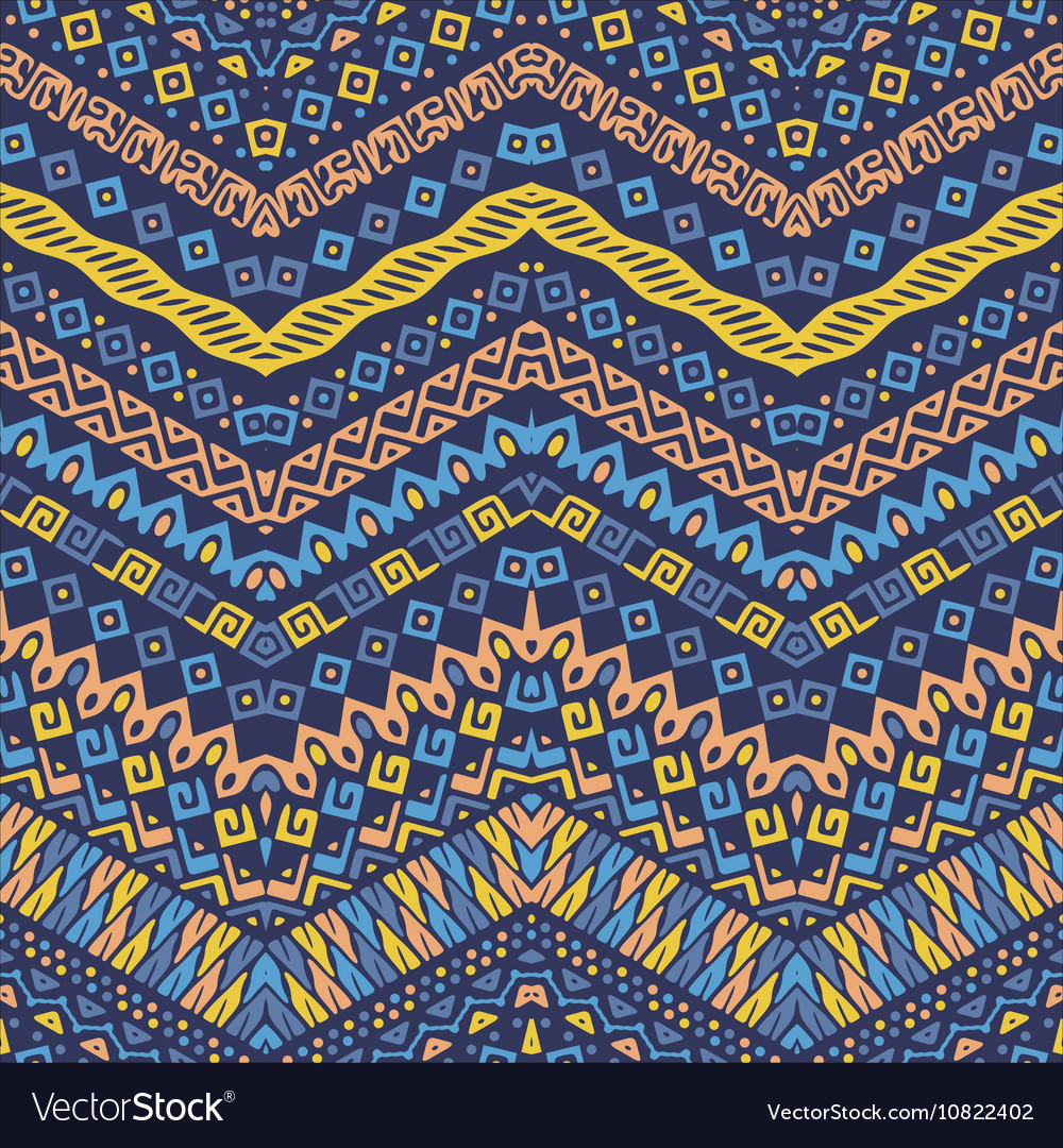 African style chevron pattern