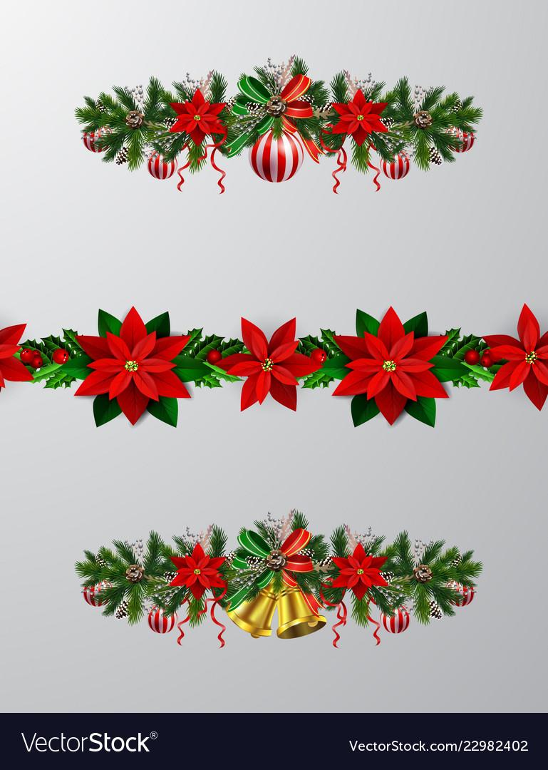 Christmas tree branch decorations