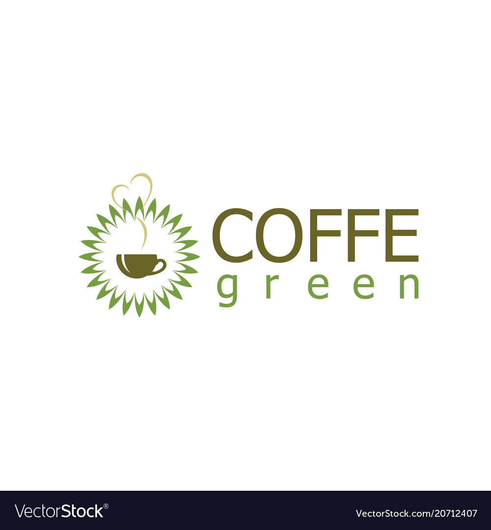Green coffe logo