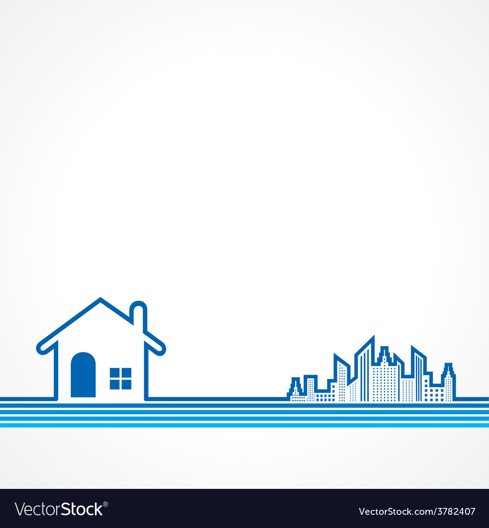 Real Estate background for sale property concept