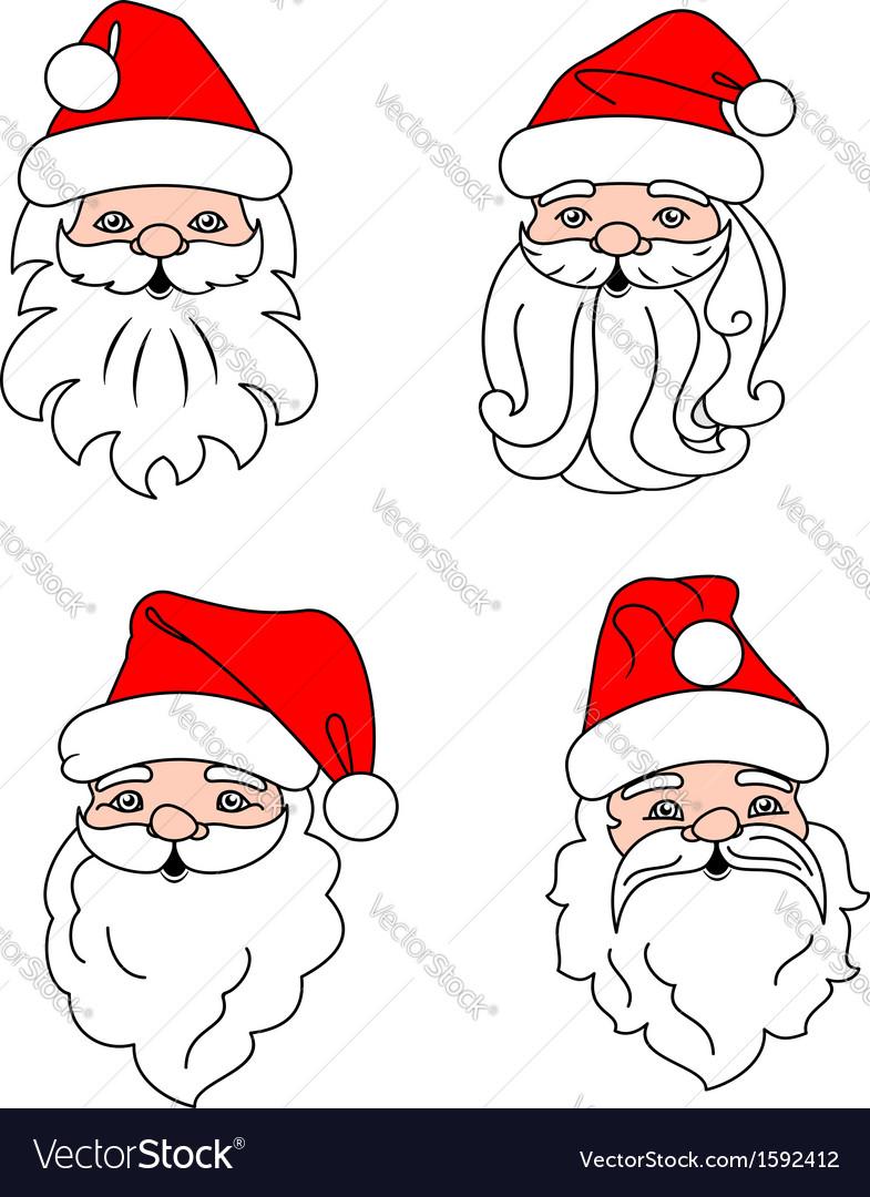 Christmas Santa Clouses