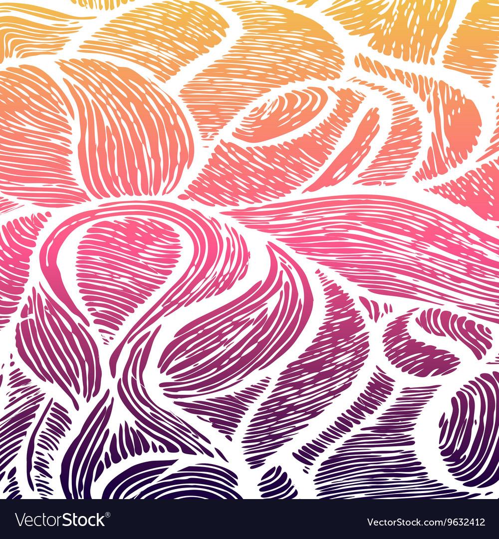Seamless shapes hand-drawn pattern spots