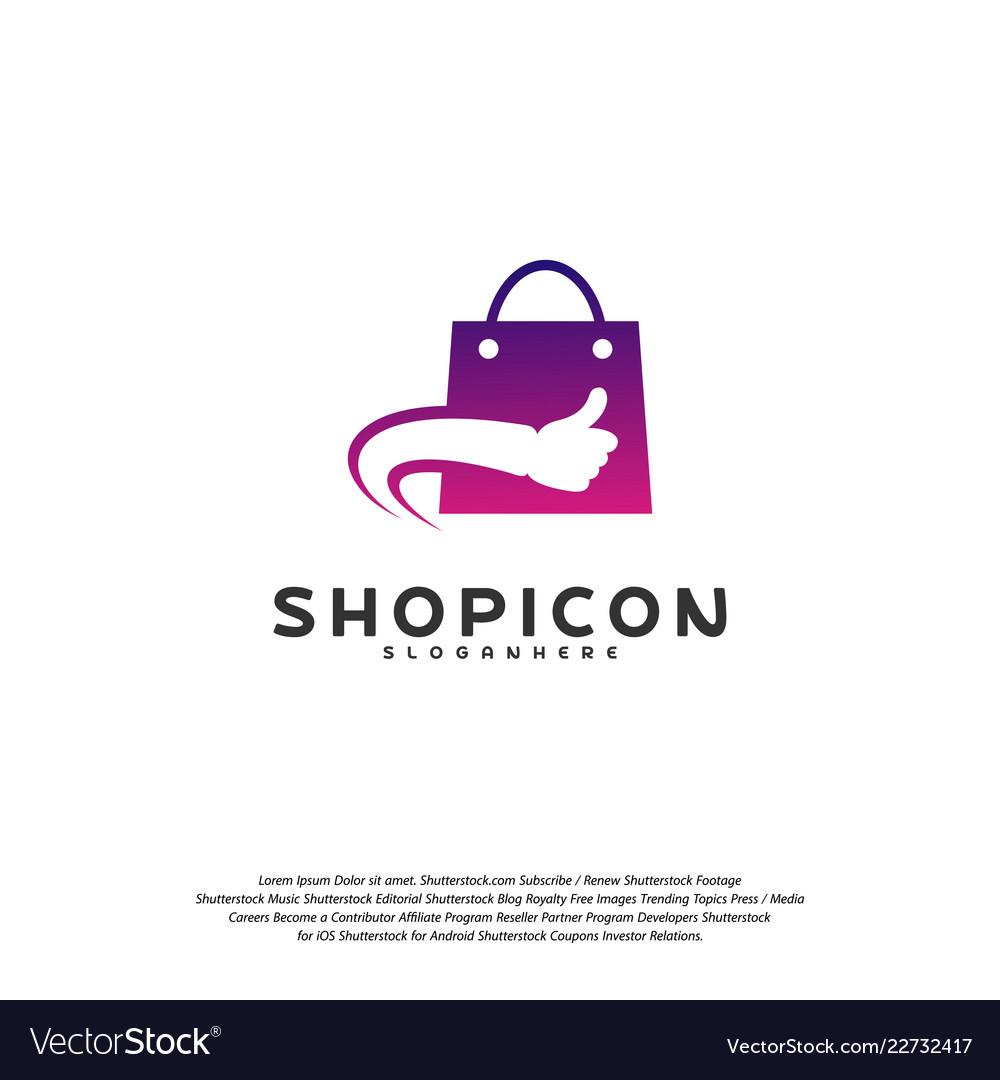 Good shop logo template design great shop logo