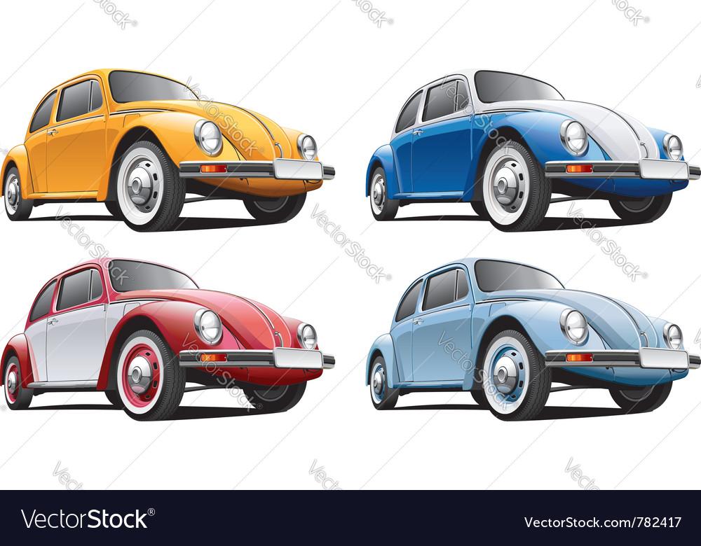 Vintage classic vw beetle