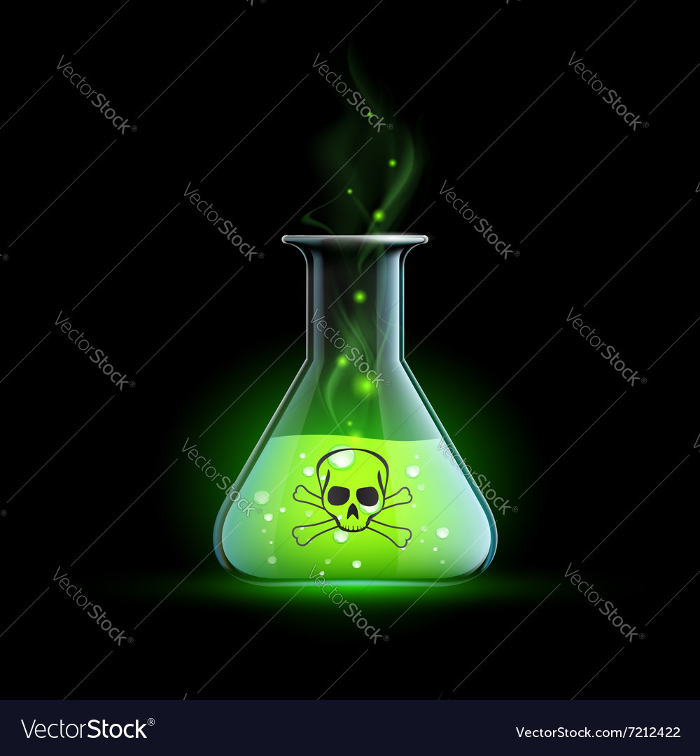 Poisonous liquid Stock