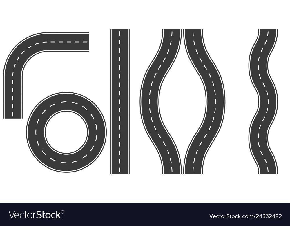 Set roads markings options