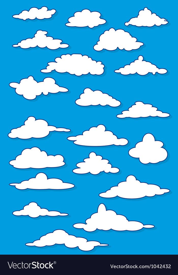 Fabulous clouds set
