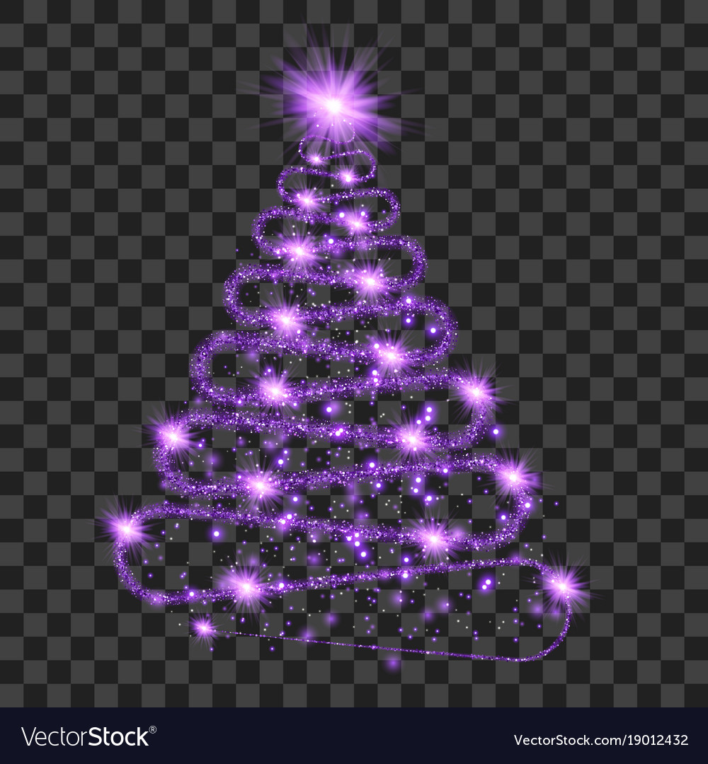 Form Of Christmas Tree Vector Image