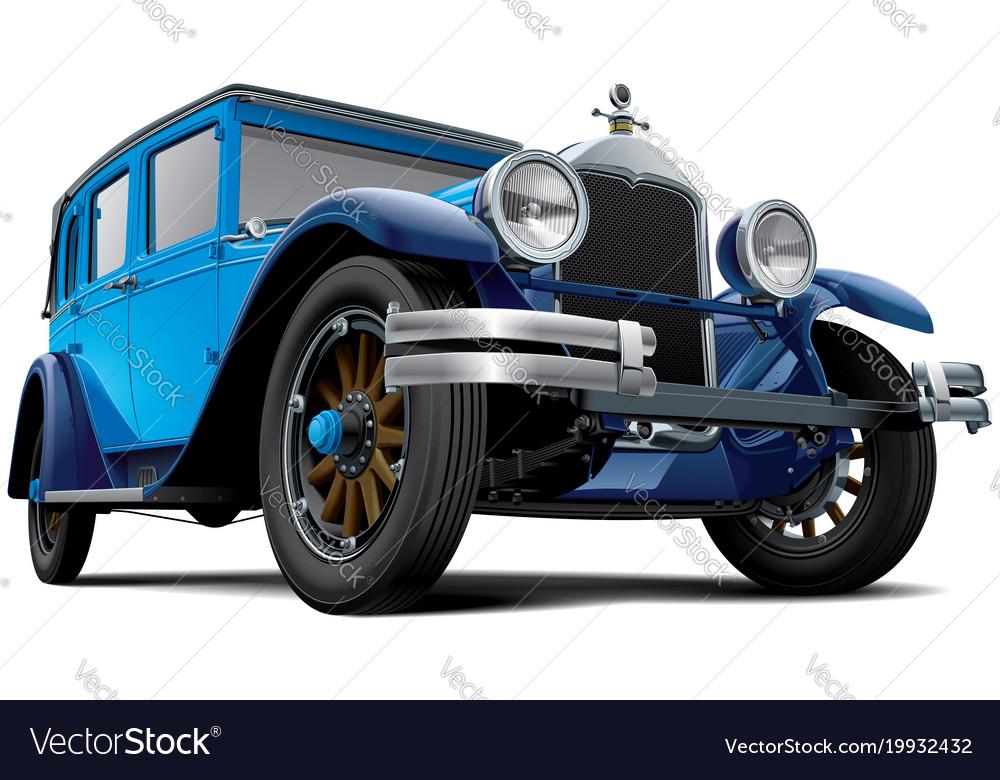 Vintage 4-door sedan