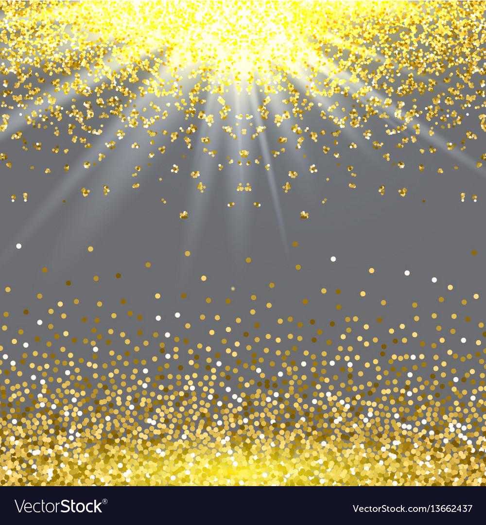 Abstract gold glitter splatter background for the
