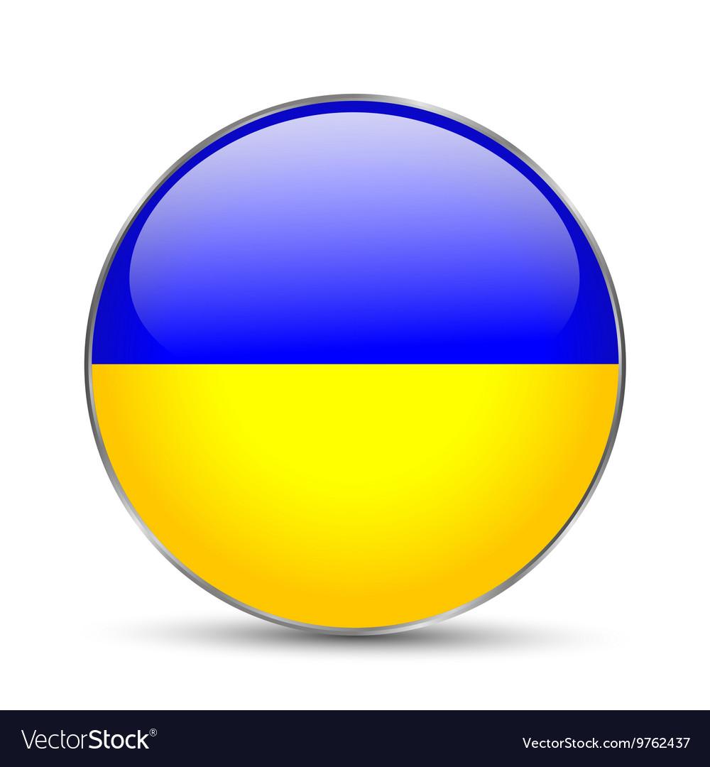 National flag ukraine isolated
