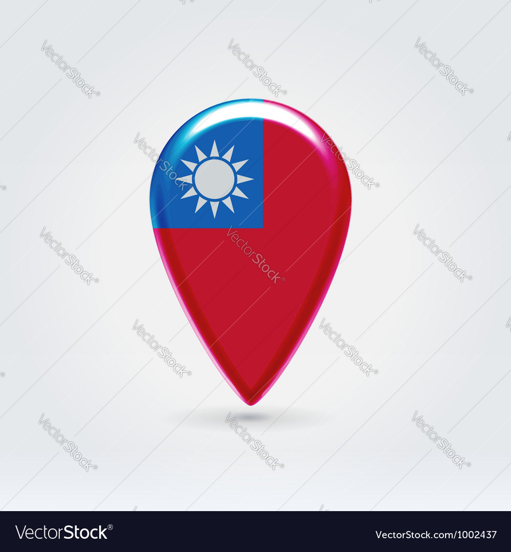 Taiwan icon point for map