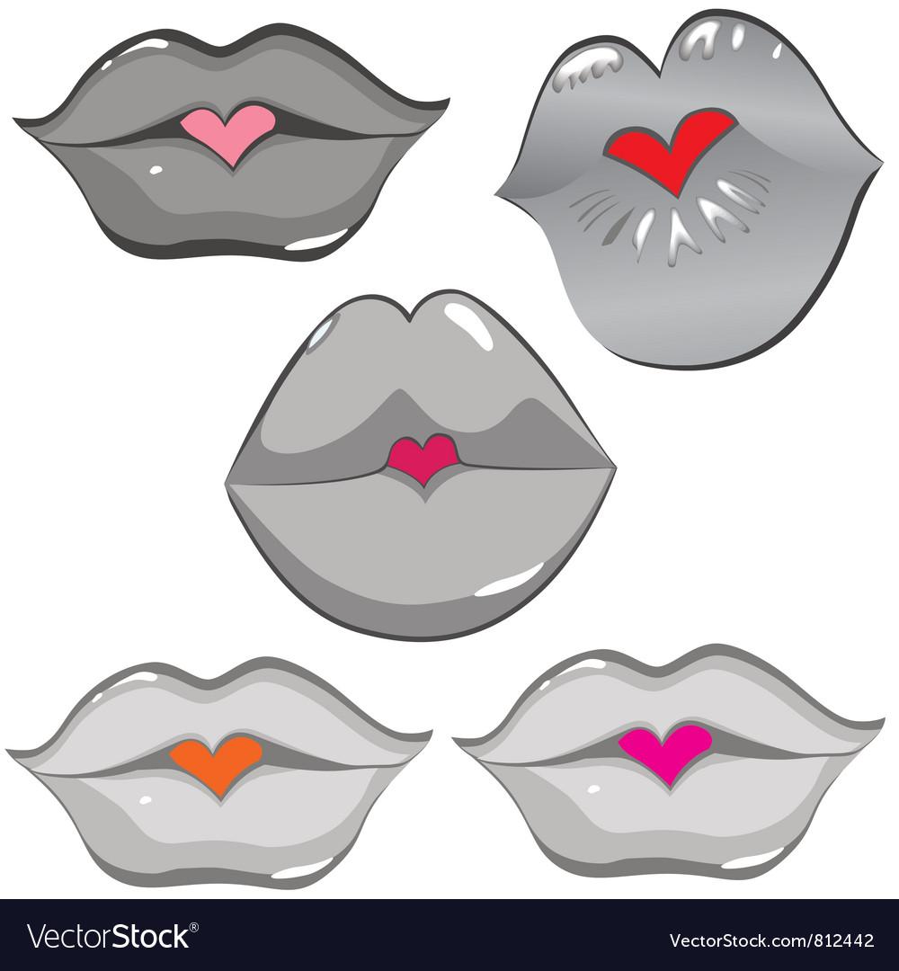 Lip hearts