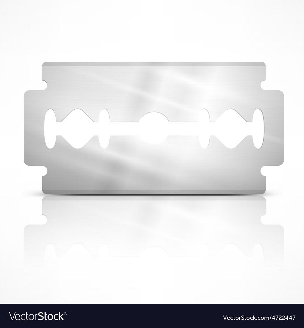 Blade razor on white