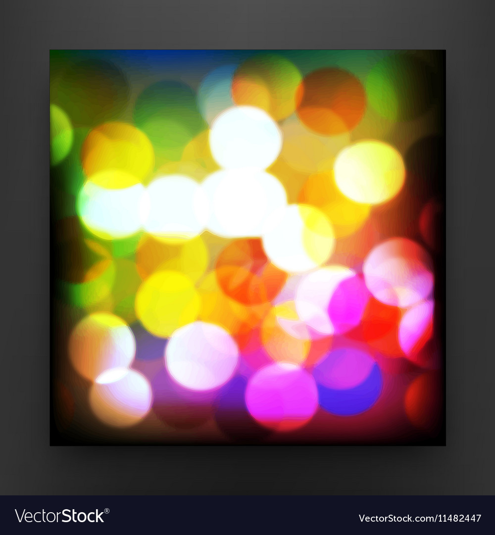 Colorful Circular Background