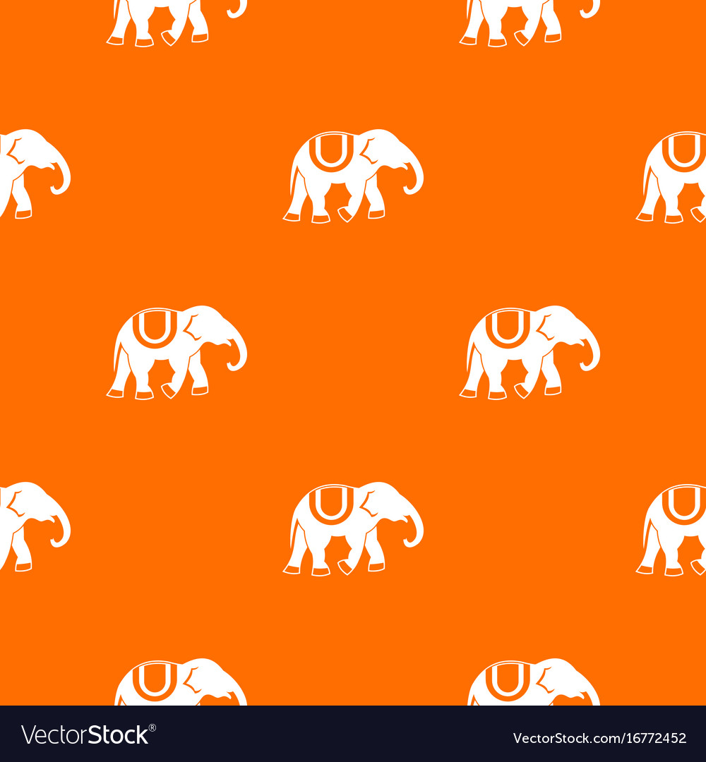 Elephant pattern seamless