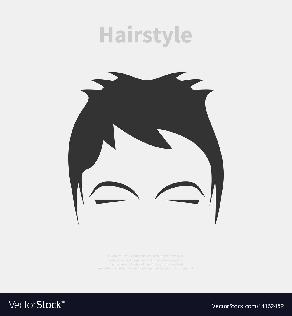 Hairstyle icon