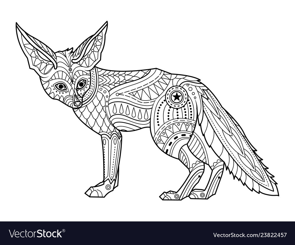 Cute Baby Fox Coloring Pages - Coloring Home | 831x1000