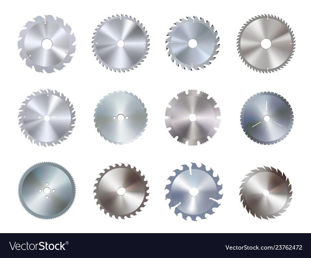 Circular disk equipment and sharp saw blades