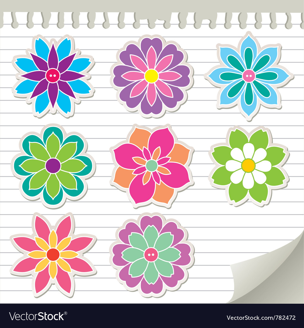 Flower Sticker Pic