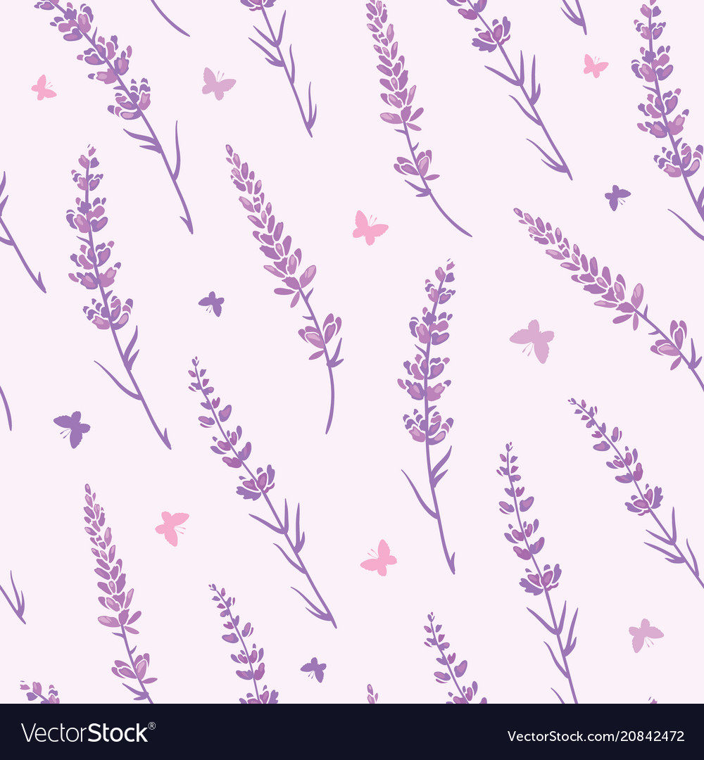 Lavender Field Repeat Pattern Background Vector Image A collection of the top 59 lavender wallpapers and backgrounds available for download for free. vectorstock