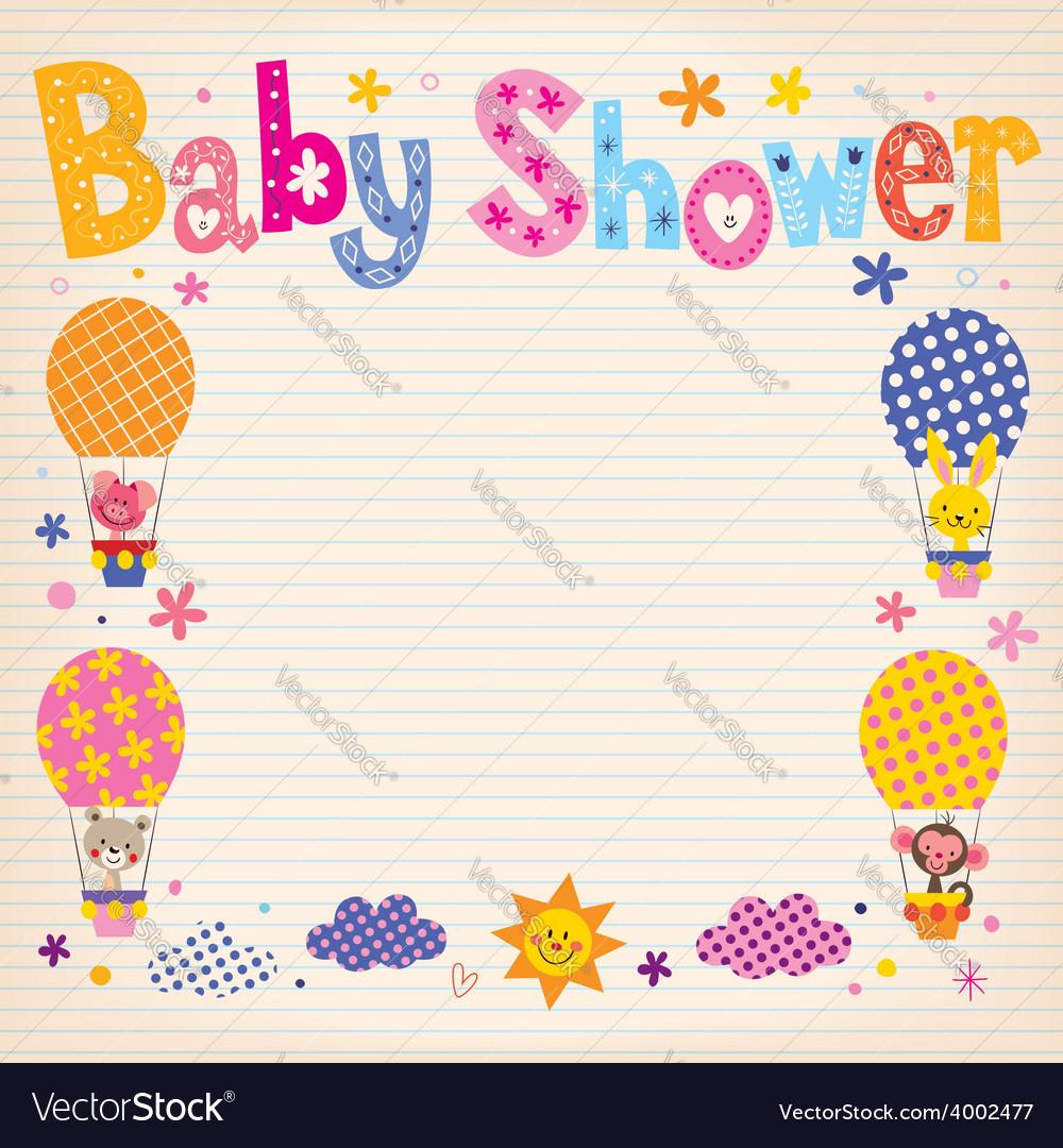 Baby Shower invitation card 2