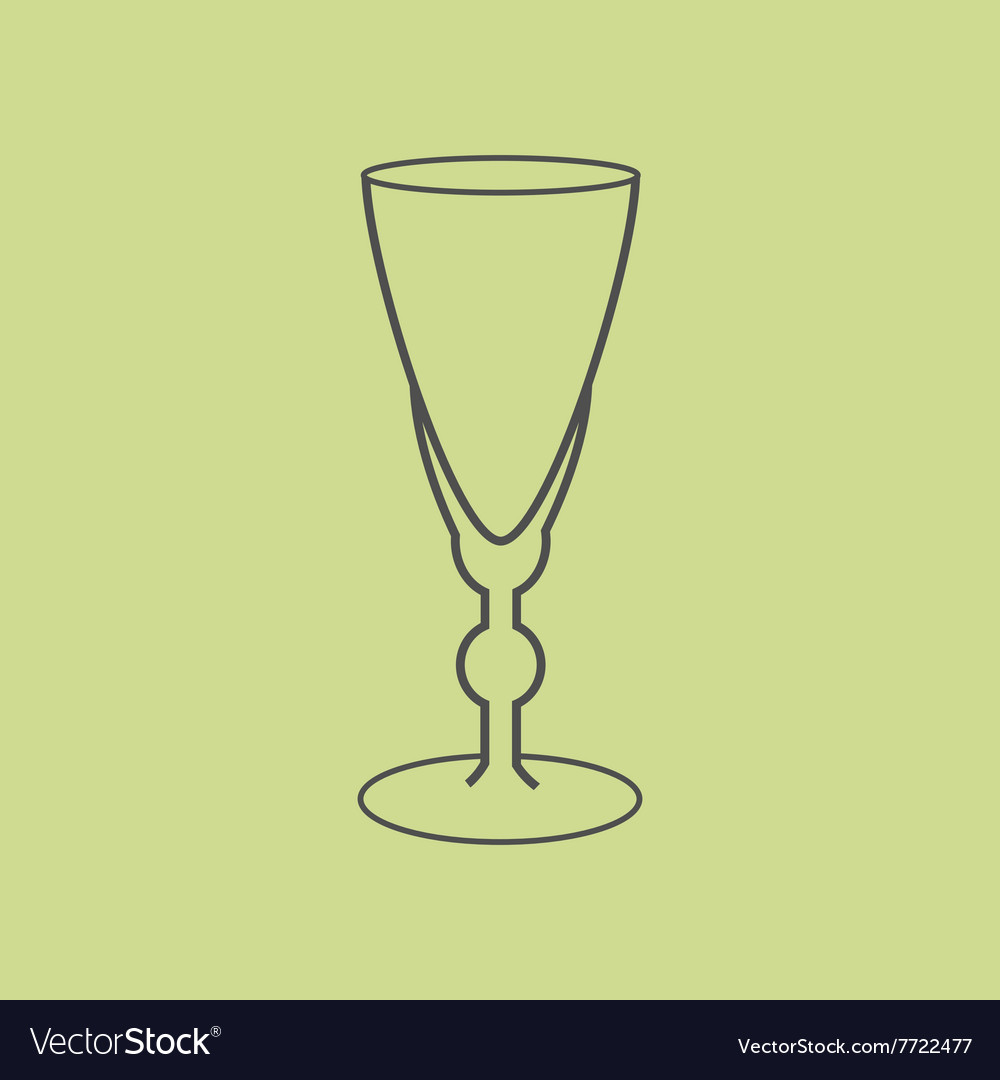 Sherry vermouth glass