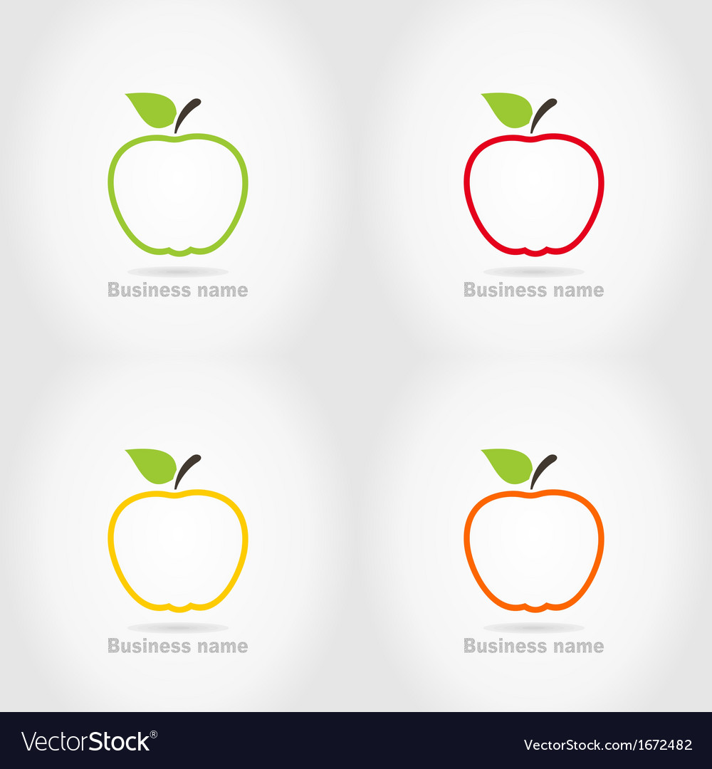 Apple5 vector image