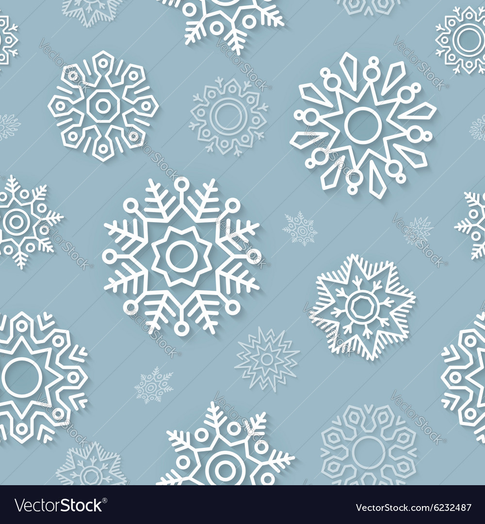 Abstract Christmas background seamless pattern