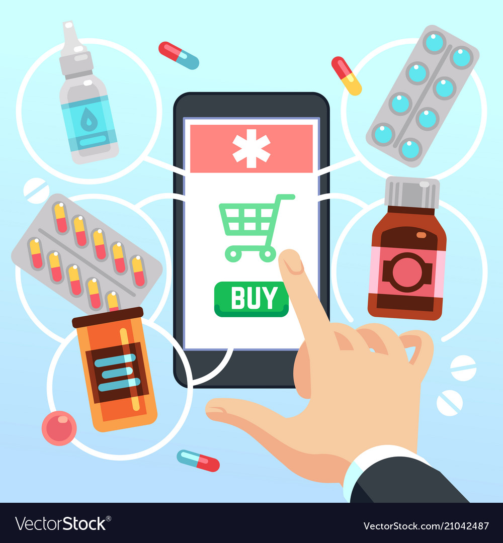 Buyers hand selects and buys drugs and medications