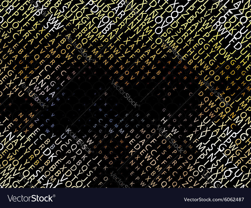Digital code vector image