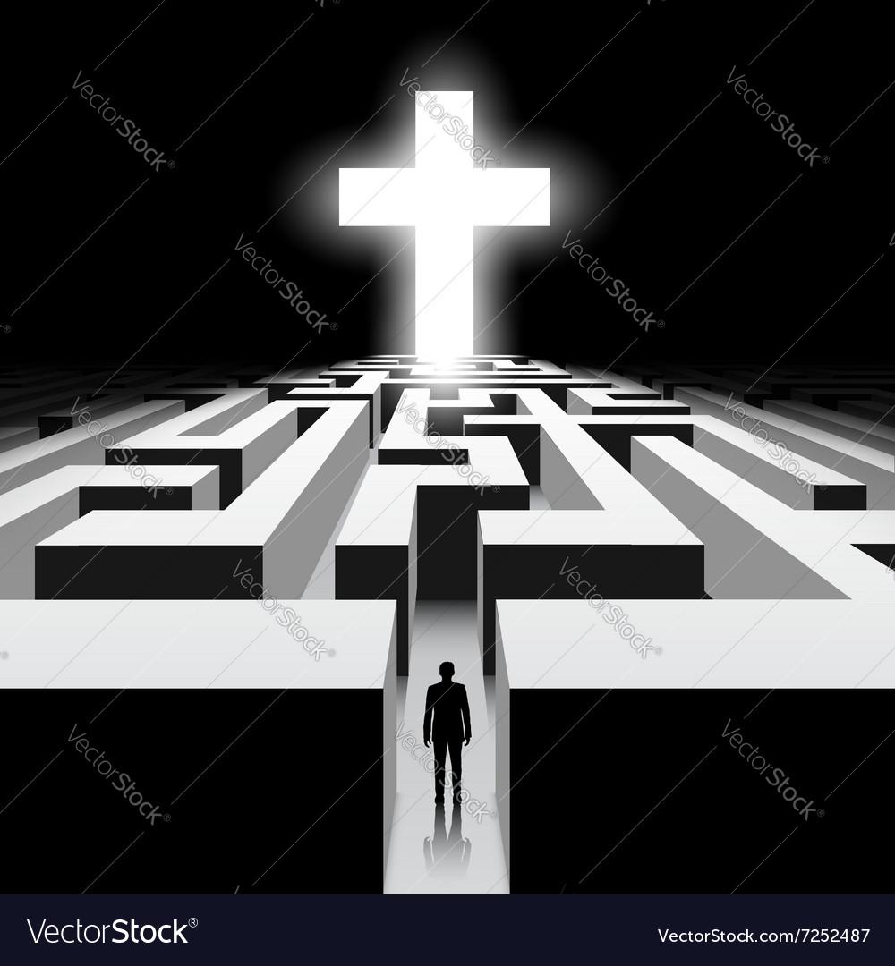 White Cross Stock